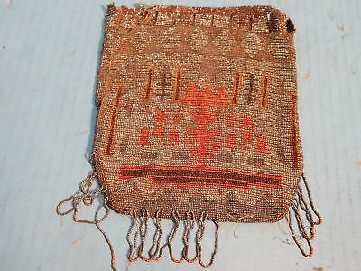 Vintage Native American Indian Beaded Purse