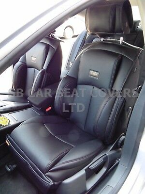 i - TO FIT A MITSUBISHI OUTLANDER PHEV, CAR SEAT COVERS, YS01 RECARO SPORTS, BLK