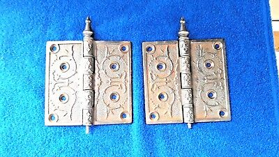 Antique Victorian Era Door Hinges