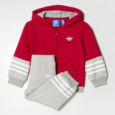 Adidas Originals FL Infant Boys/Girls Track Suit Unity Pink /Grey  s95969 New