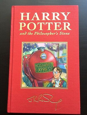 Harry Potter and the Philosophers Stone Deluxe Hardback Edition 2nd Printing