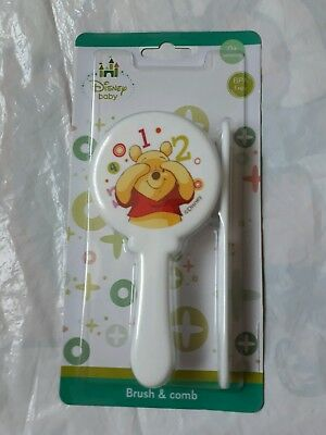 DISNEY my first brush and comb set winnie the pooh NEW