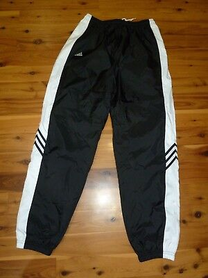 Adidas Workout/jogging/gym Pants~~Size Large~~Nylon~~Inseam 33""