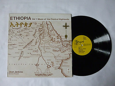 Ethiopia ~ Music Of The Central Highlands Vol.1 ~ Vg+/vg+ ~ '70 African Vinyl Lp
