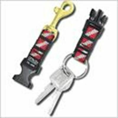 """Cetacea 5/8"""" Quick Release Keytag With 1"""" Stainless Steel Split Ring"""