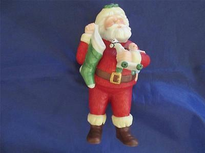 1986 Hallmark Porcelain Ornament Jolly St. Nick Santa Special Edition QX4296 NIB