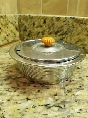 antique chase butter dish