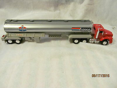 Amoco 1994 Tractor Trailer Toy Made of Plastic