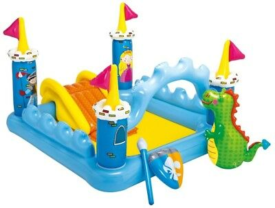 Castle Inflatable Bounce House - Jumper Blower Bouncer Slide - Kids Mighty Jump