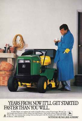 1988 John Deere:Years From Now (13678) Print Ad