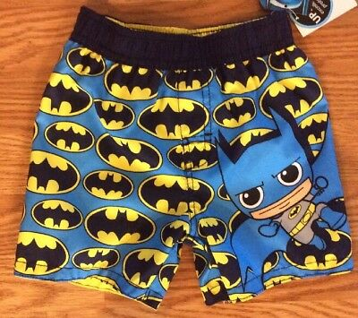 Batman Baby Boys Swim Trunks Size 18M UPF 50+ UV Protection Brand New with Tags