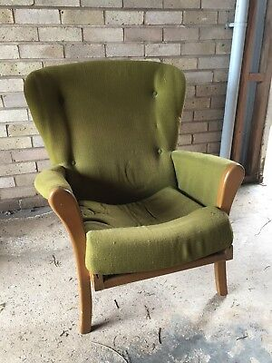 70s Retro Armchair For Restoration