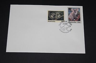 Aust 1981 Scarce Taronga Park Zoo Souvenir Cover Koala With 1 Zoo Cinderela