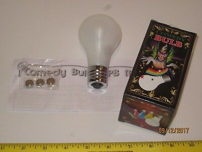 Light-Bulb Magic Trick - Don't Fester Over A Costume Comedy Light Up Push Button