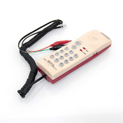 Telephone Phone Butt Test Tester Lineman Tool Network Cable Professional Device