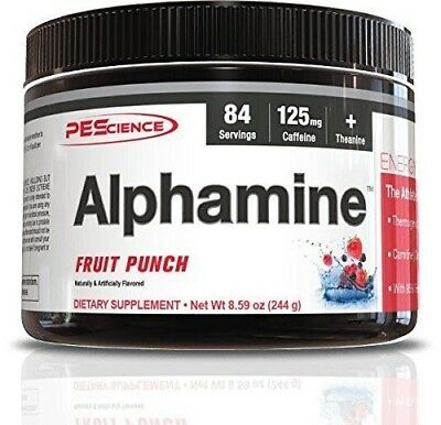 PES Alphamine Fat Burner Thermogenic Weight Loss 84 Servings - Pick Flavors