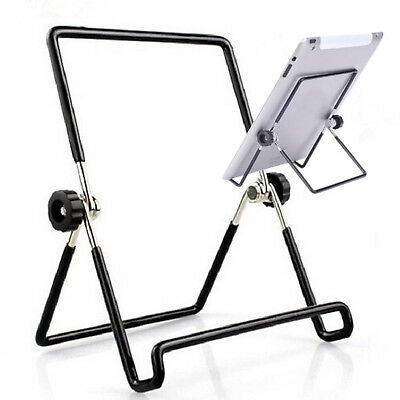 Adjustable Aluminum Multi-Angle Holder Stand Mount Ipad Tablet Book Read CQ1864