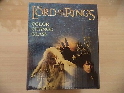 Lord of the Rings Colour changing glass (Loot Crate)