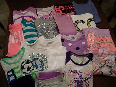Girls Size 16, Fall and Winter, Justice Tops, Lot NICE