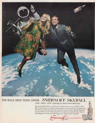 1967 Smirnoff Vodka: Skyball, Outer Space (20710) Print Ad