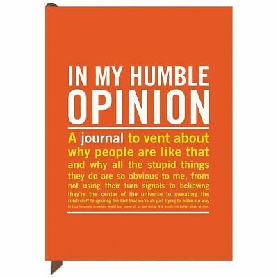 In My Humble Opinion Mini Inner Truth Journals by Knock Knock