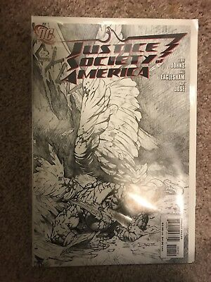 Justice Society of America #2 Variant Cover (Mar 2007, DC)