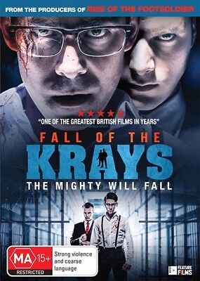 Fall Of The Krays (DVD, 2017) (Region 4) Aussie Release