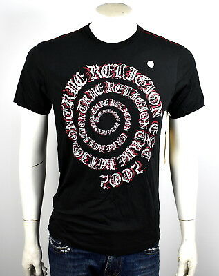 281234b2a True Religion Men's Gothic Spiral Graphic Tee Shirt/Top - MC353NP58 Size S