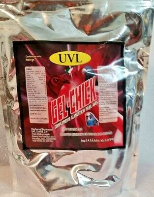 UVL gel-chick 500 GRAMS enzymes vitamins electrolytes omegas 3&6 for chicks