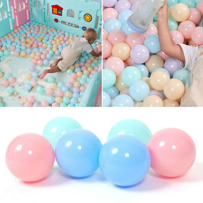 20pcs Colorful Children Ocean Ball Swim Pit Playing Toy Baby Gift Plastic