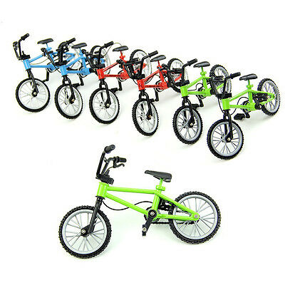 Hot  Mini Toy Bicycle Bike Miniature Doll House Home  Accessory Decor Cute