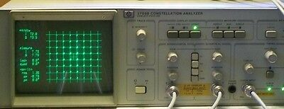 Agilent Hewlett Packard Hp3709B Constellation Analyzer Hp 3709B