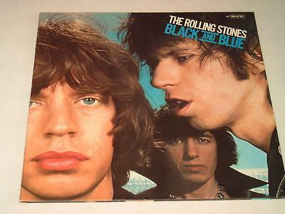 The Rolling Stones - Black And Blue - Lp Ger 1976 1St Press A1/b1