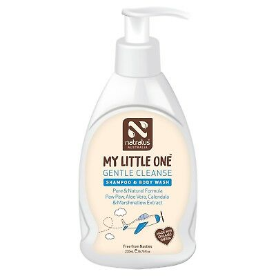 Natralus My Little One Gentle Cleanse Shampoo & Body Wash 200Ml