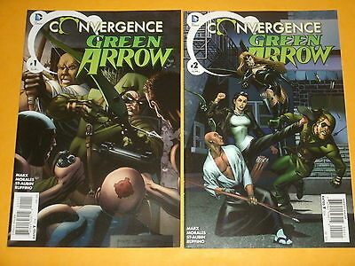 DC Comics CONVERGENCE: GREEN ARROW #'s 1 & 2 (of 2) Rags Morales BLACK CANARY