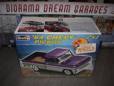 Revell 64 Chevy Pickup 2 N 1  Rare Kit 1.24 Scale