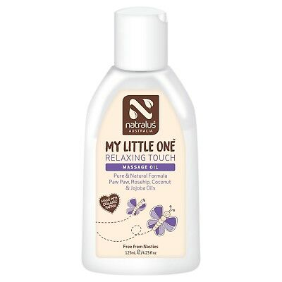 Natralus My Little One Relaxing Touch Massage Oil 125Ml