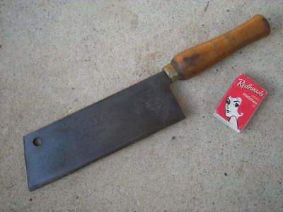 Small Vintage CLEAVER, Sheffield, ENGLAND - Butcher, Meat? Tobacco? Chopper....