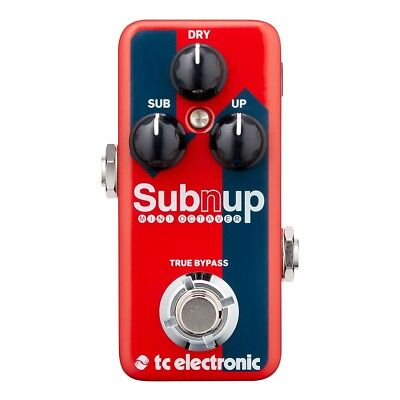 TC Electronic Sub 'N' Up Mini Octaver True Bypass Guitar Effects Pedal Stompbox