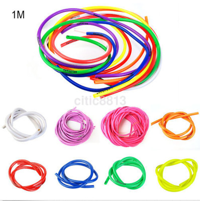 8 Colors 1M Motorcycle Bike Fuel Gas Oil Delivery Tube Hose Petrol Pipe
