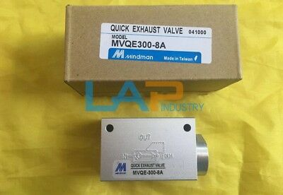 1PC New Mindman MVQE300-8A Quick Exhaust Valve