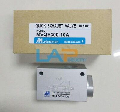 1PC New Mindman MVQE300-10A Quick Exhaust Valve