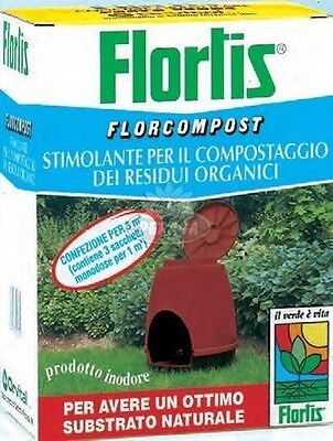 STIMULANT FOR COMPOSTING FLORCOMPOST 1500 Gr FLORTIS compost