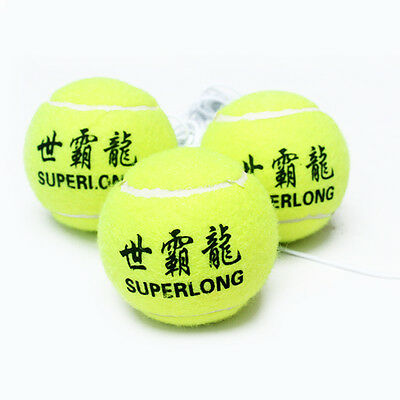 1pc Practical Kids Adult Tennis Training Ball Rope Outdoor Fun Baby Toys Game