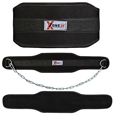 Onex Weight lifting Belt Gym Training Back Support Body Building Lumbar Pain