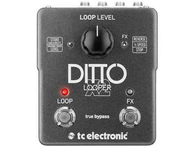 Tc Electronic Ditto X2 Looper Effetto Looper Stereo A Pedale