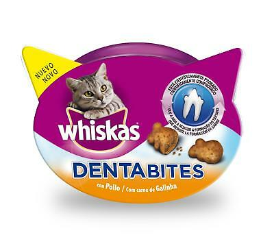 Snacks para gatos Whiskas Dentabites: 40 g