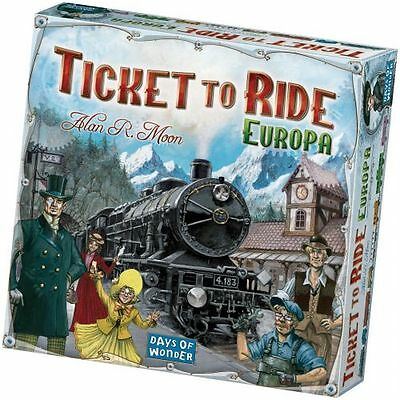 Asmodee STR8500 Ticket to Ride Europa