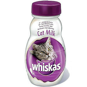 Snacks para gatos Whiskas Milk: 205 g