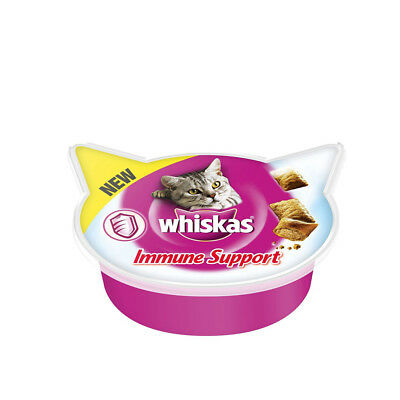 Snacks para gatos Whiskas Immune Support: 50 g